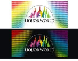 "#49 untuk Design Shop Front for ""Liquor World"" retail store oleh jones23logo"