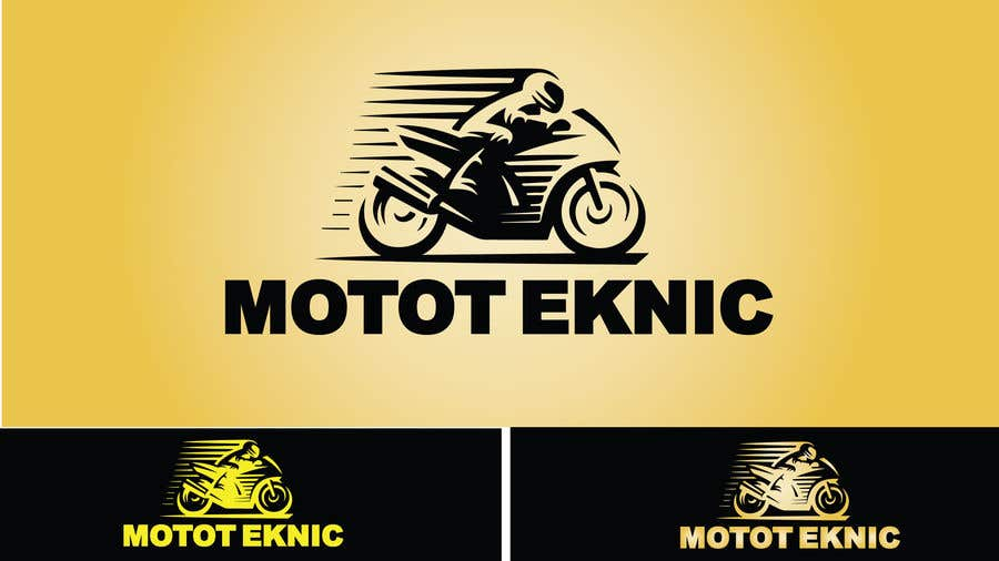 Entry #4 by abadoutayeb1983 for Motorcycle start up called Moto