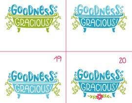 #116 za Goodness Gracious! We need a logo! od OpheliaStudio