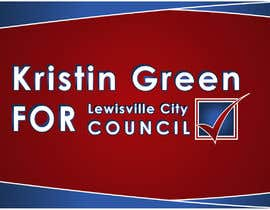 #29 for Campaign Sign Design by MVgdesign