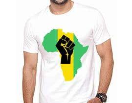 #12 za Black Power Fist with Afro od robiulislamrana