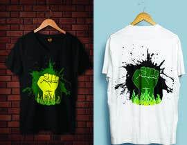 #20 za Black Power Fist with Afro od rabbya57