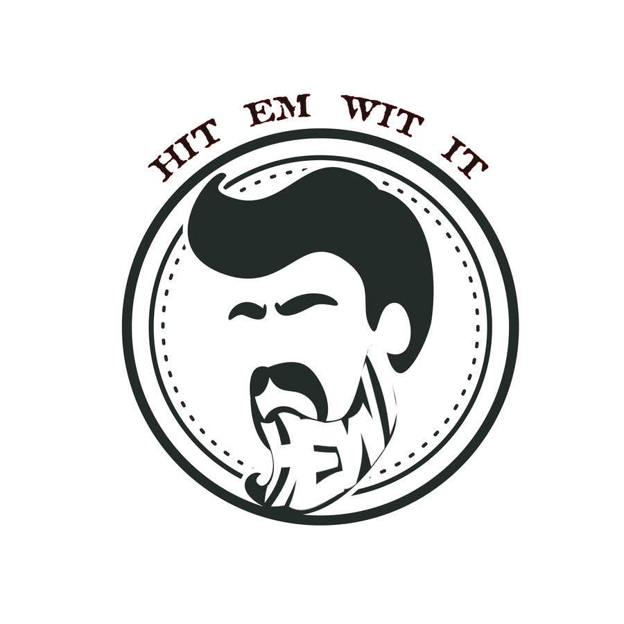 Penyertaan Peraduan #13 untuk I am looking to get a barber logo made. The attached logo has the name attached to it. Hit Em Wit It ((HEWI). I do not want the logo to have any type of fist with it. Just want it to have to do something more with being a barber.