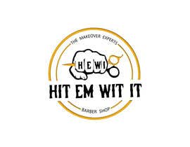 #19 untuk I am looking to get a barber logo made. The attached logo has the name attached to it. Hit Em Wit It ((HEWI). I do not want the logo to have any type of fist with it. Just want it to have to do something more with being a barber. oleh Igniter11