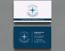 #105 za Need maritime business Card Design with colours of my logo od Creativeitzone