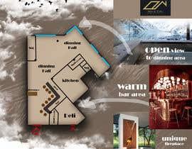 #35 za Restaurant floor plan od HalaCH