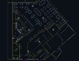 #32 za Restaurant floor plan od arqfernandezr