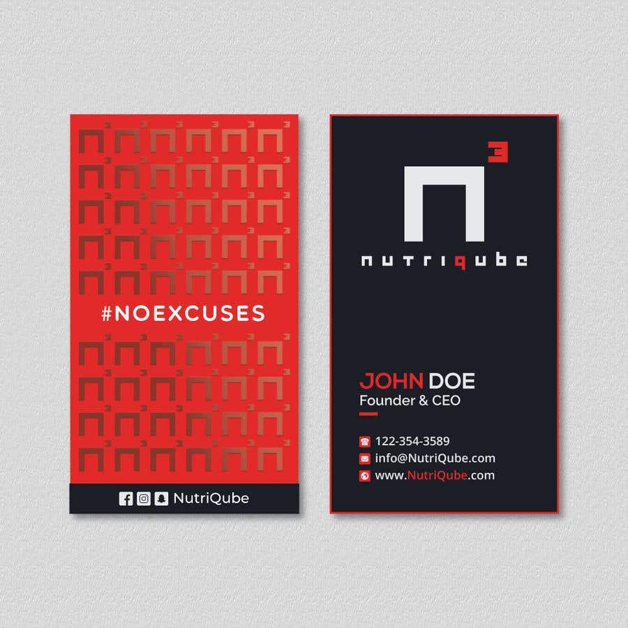 Natečajni vnos #253 za Design a modern business card