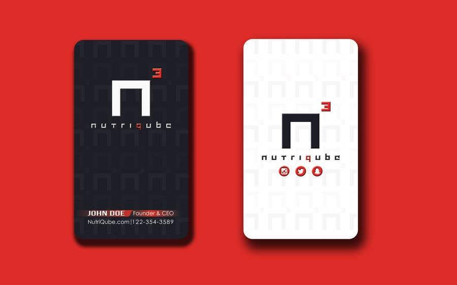 Natečajni vnos #244 za Design a modern business card