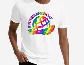 #89 for T-shirt design based on existing logo (#inthesameboat) by imperartor