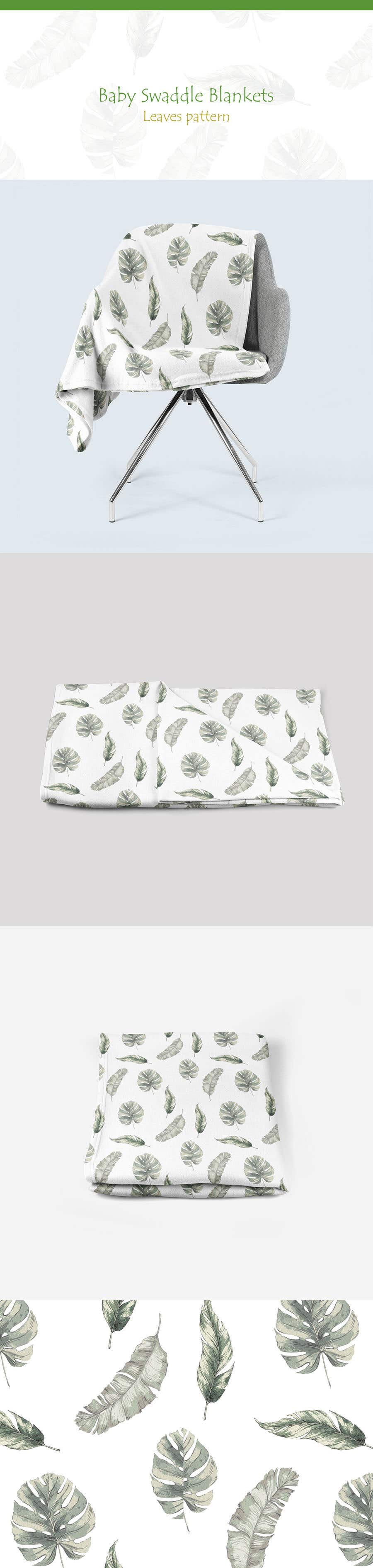 Proposition n°131 du concours Design 3 Baby Swaddle Blankets