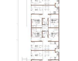 #21 za Architectural design for an area of 72x33 feet od bakrnada