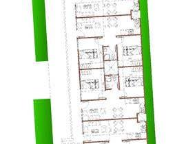 #24 za Architectural design for an area of 72x33 feet od bakrnada
