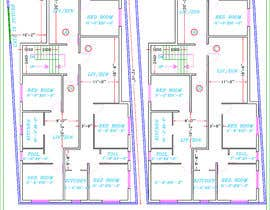 #11 for Architectural design for an area of 72x33 feet af subhajitmaitycs