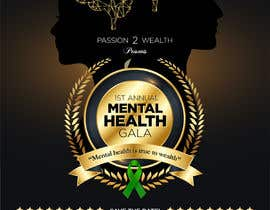#1 para design beautiful digital flyer - Mental Health Gala por marATTACKs