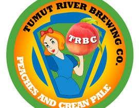#28 for Logo for our new beer Peaches & Cream Pale av letindorko2