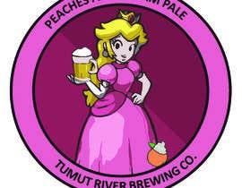 #188 for Logo for our new beer Peaches & Cream Pale av RoninSpirit