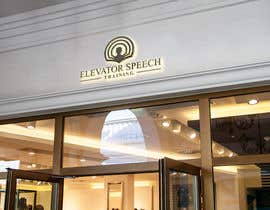 """#107 untuk logo for """"elevator speech training"""" oleh Samayera0"""