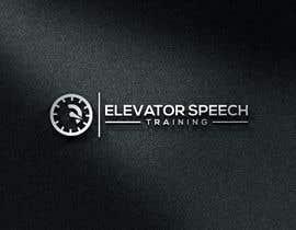 "#150 untuk logo for ""elevator speech training"" oleh monirhossian0987"