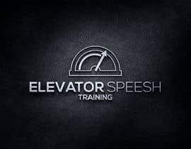 """#138 para logo for """"elevator speech training"""" por zdravcovladimir"""