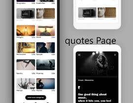 #11 for UI for a Quote App av gopi00712122