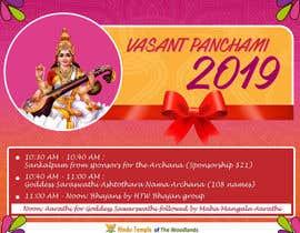 #15 for Vasant Panchami poster av IBasir
