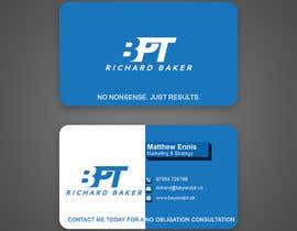 #159 for Business Card for Personal Trainer av ronyahmedspi69