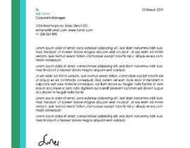 nº 27 pour Create Letterhead Template in Word, PSD and CDR par abirrajdut