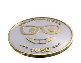 #34 pёr Design a 3D coin (cryptocurrency) with shiny gold surface and reflections! nga danesebastian