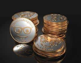 #26 for Design a 3D coin (cryptocurrency) with shiny gold surface and reflections! af Vadymykh