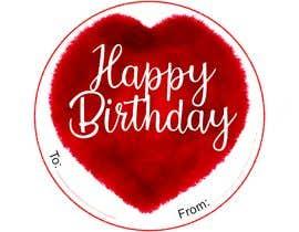 #45 untuk Make me a gift label: Heart 01 oleh Nurulhuda