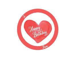 #13 pёr Make me a gift label: Heart 01 nga mehediabir1