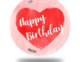#46 pёr Make me a gift label: Heart 01 nga aatir2