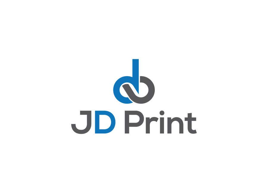 Konkurrenceindlæg #23 for Needing a logo designed with the wording: JD Print. Preferably with the JD in the shape of a diamond