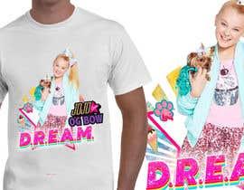 #35 pёr New Tshirt Design for Jojo Siwa outlet nga JunrayFreelancer