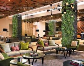 #10 za Add Plants to 2 Hotel Lobbies od alvarorodriguez