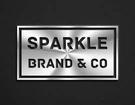 #61 pёr I need a text logo that can be used for social media & website. The name of the brand is Sparkle Brand & Co. I would love for the design to be classy but edgy with a pop of shiny metallic. nga SaryNass