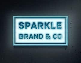 #63 pёr I need a text logo that can be used for social media & website. The name of the brand is Sparkle Brand & Co. I would love for the design to be classy but edgy with a pop of shiny metallic. nga SaryNass