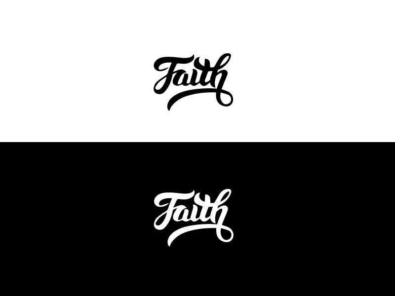 Proposition n°19 du concours Digitize and improve a hand drawn text logo - Faith