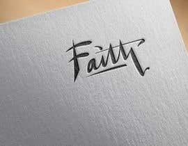 nº 57 pour Digitize and improve a hand drawn text logo - Faith par NSGraphicDesing