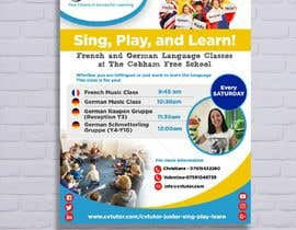 #28 pёr Design a flyer for Childrens language classes nga d3stin