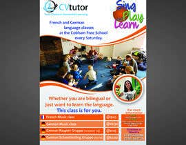 #27 pёr Design a flyer for Childrens language classes nga nubelo_KWkEGS0j
