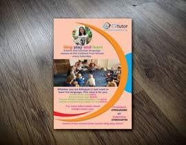 #33 pёr Design a flyer for Childrens language classes nga rssumon1648