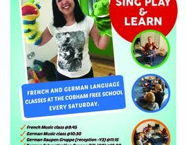 #36 pёr Design a flyer for Childrens language classes nga subhammondal840