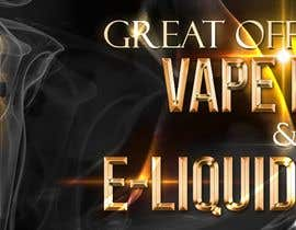 #5 pёr Website Banner for Vape Products nga MarinelaC