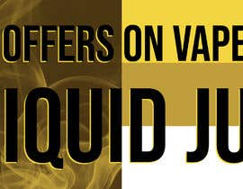 #10 pёr Website Banner for Vape Products nga anetes