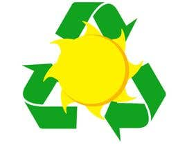 #30 za Design a logo for a sustainability business. No business name in the logo. It should have 3 green arrows around a yellow conceptualised flaring sun. The sun flare should be in the centre and the flares emerge from behind the green arrows. od kalenmcinnes