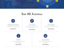 Nro 6 kilpailuun Single-page marketing page needed käyttäjältä saidesigner87