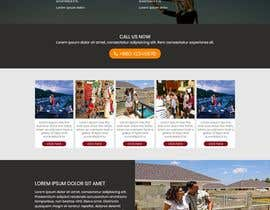 Nro 3 kilpailuun Single-page marketing page needed käyttäjältä forhat990