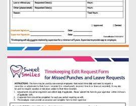 #19 za Make a one page employee form od sumaiya505